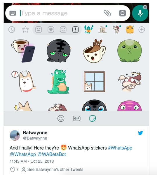Latest WhatsApp Update To Introduce New Stickers