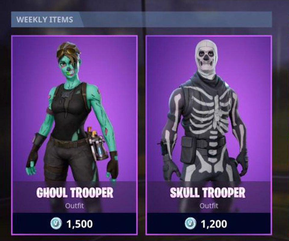 Fortnite- Ghoul Trooper