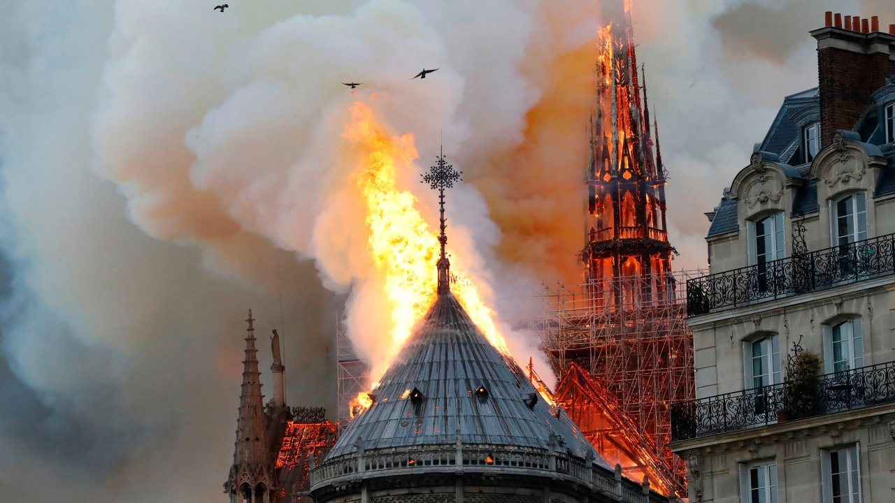 Notre Dame Fire Shocks Europe