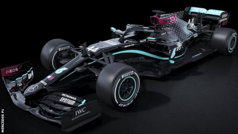 New Black Livery Is The New Color For Mercedes