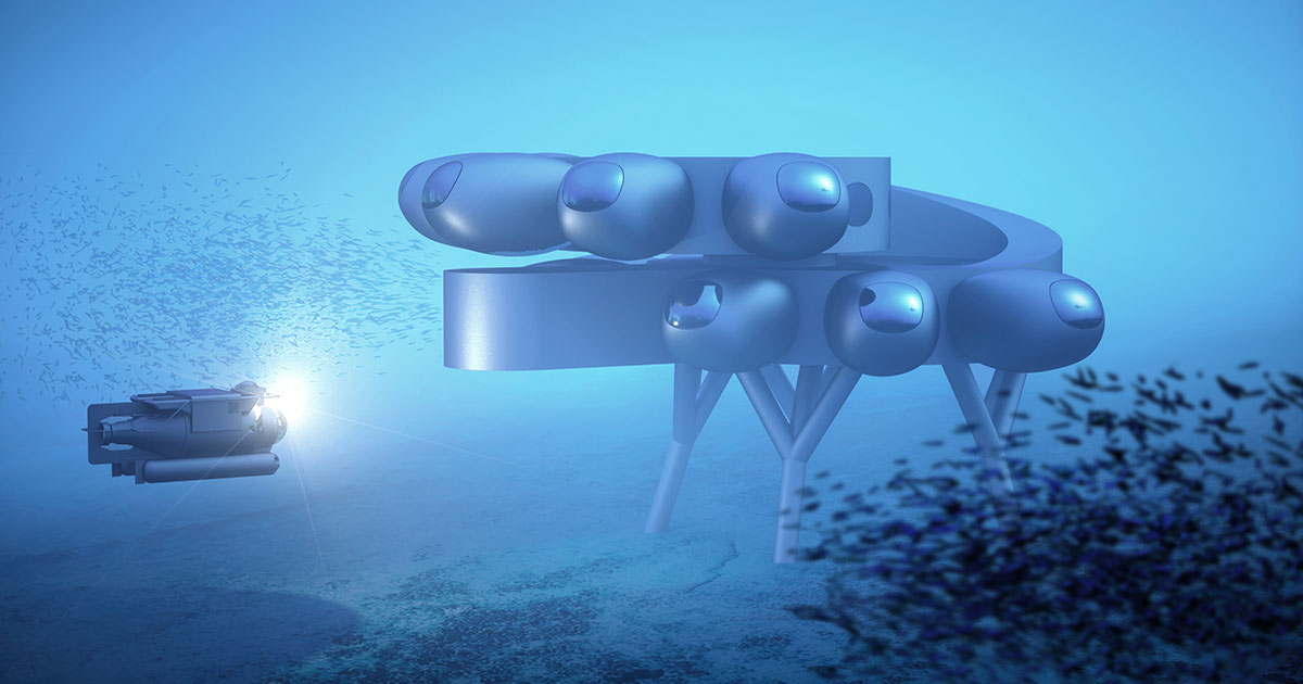 There Is An Underwater Space Station And It Just Got Unveiled